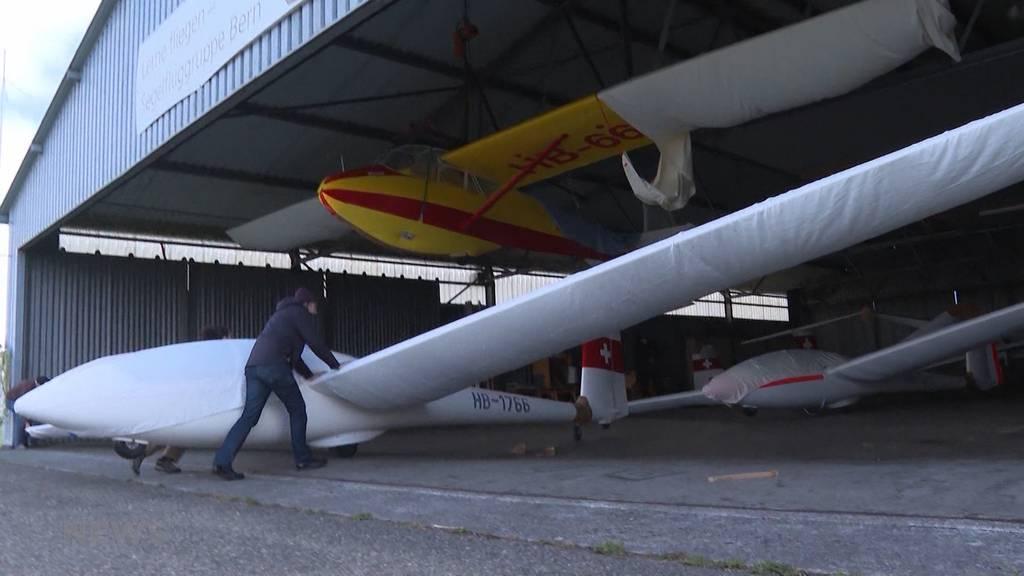 Flughafen Belp stutzt Segelflieger-Piloten die Flügel