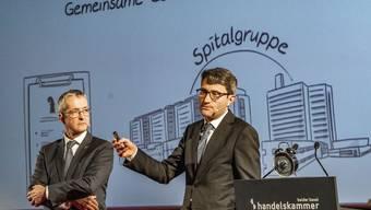 Teure Träume: Thomas Weber (l.) und Lukas Engelberger (r.)