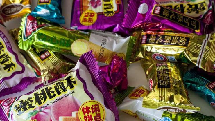 Produkte des chinesischen Süsswaren-Herstellers Hsu Fu Chi