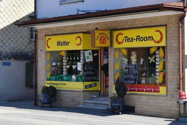 So präsentierte sich die Bäckerei Walter an der Oltnerstrasse 35 in Schönenwerd