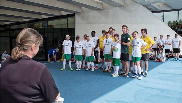 Das Team von Werder Bremen war nur eines von sechs, die an der Jubiläums-Ausgabe des Special Youth Camp teilgenommen haben.