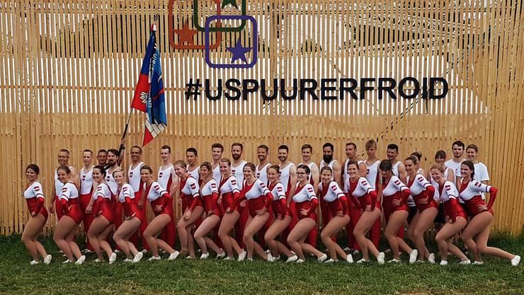 Gruppenfoto am KTF17.