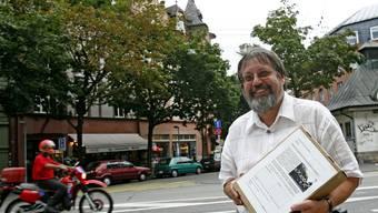 Thomas Mächler, Präsident des Vereins «Heb Sorg zum Glaibasel».