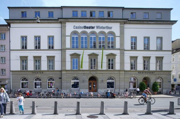 Das Casinotheater in Winterthur.