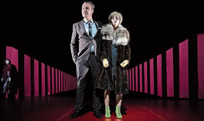 Das Theater Kanton Zürich bringt Friedrich Dürrenmatts Klassiker «Der Besuch der alten Dame» in den Salmensaal nach Schlieren.