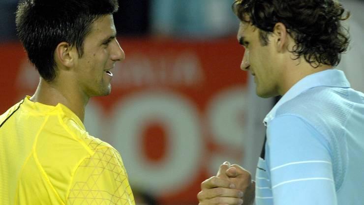 Australian Open 2007: Federer vs. Djokovic 6:2, 7:5, 6:3