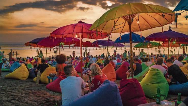 So sah es früher in Bali aus, jetzt kommt kaum noch jemand.