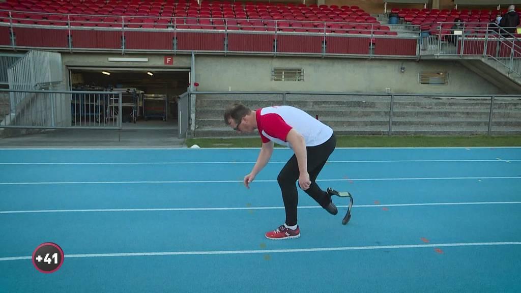 Trotz Handicap wollte sich Patrick Stoll nie Grenzen setzen