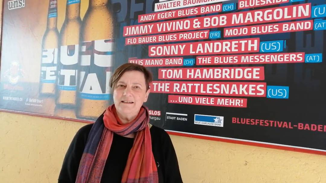 Bluesfestival Baden: die Tipps von Präsidentin Susanne Slavicek
