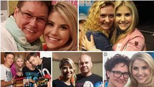 Auf Instagram hat Beatrice Egli Bilder mit Fans gepostet als Beweis, dass ihr ihre Anhänger am Herzen liegen.