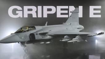 Der Gripen E des schwedischen Herstellers Saab. Der Hersteller verzichtet auf die Teilnahme an den Schweizer Flugtests, weil diese nur für 2019 bereits operationell einsatzbereite Flugzeuge entwickelt wurden. (Archivbild)