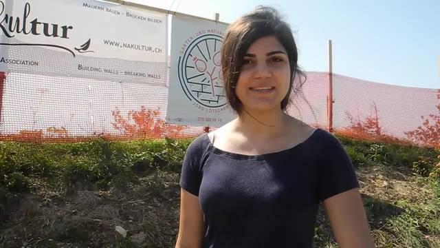 Rawda Hussein aus Palästina