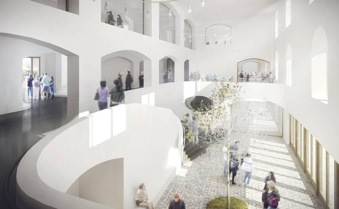 So wird der Kasernenhauptbau künftig aussehen.