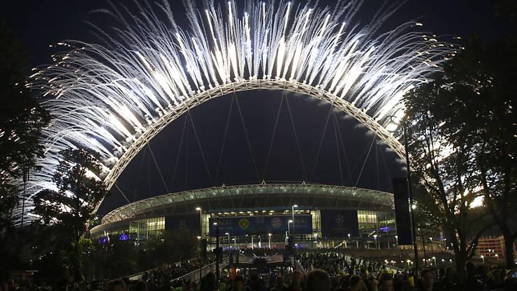 Im Londoner Wembley-Stadion wird im kommenden Jahr der EM-Final ausgetragen