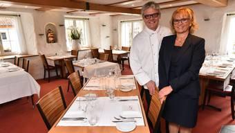 Peter Oesch und Bernadette Rickenbacher geben die Pacht im Restaurant Chutz in Oberbuchsiten nach nur vier Monaten auf.