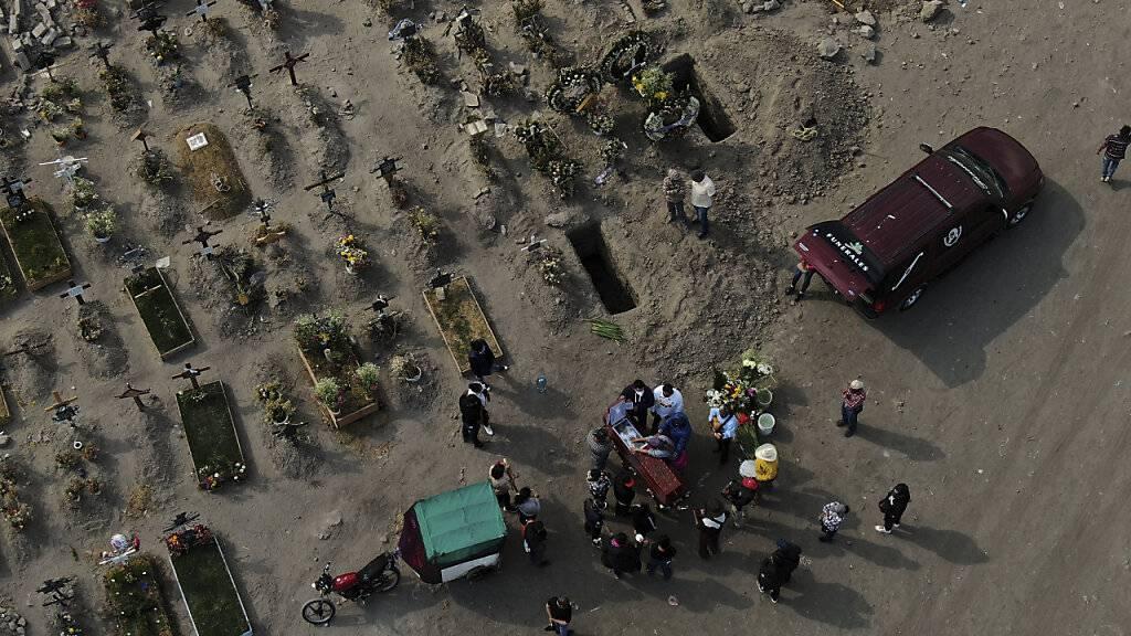 Mehr als 200.000 Corona-Tote in Mexiko