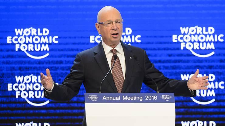 Will die globale Zusammenarbeit bei neuen Technologien: WEF-Gründer Klaus Schwab. (Archivbild)