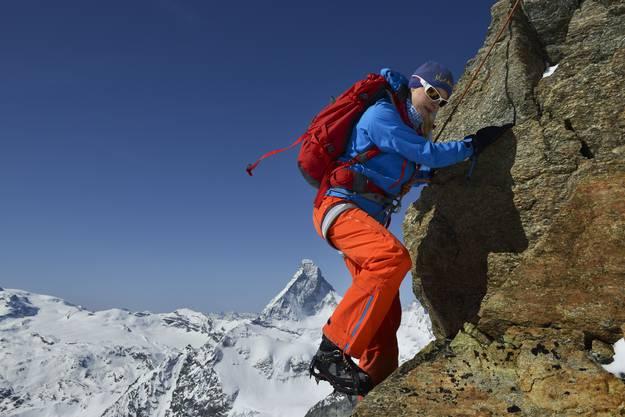 Eine Tour im Zermatt Anfang Mai