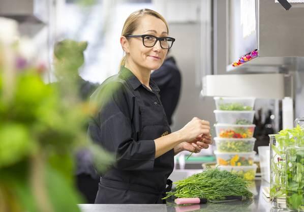 Tanja Grandits wurde bereits 2014 zur Köchin des Jahres gewählt.