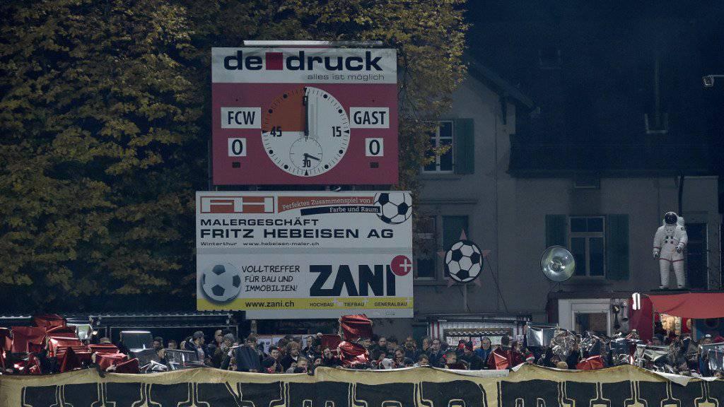 Das Stadion Schützenwiese in Winterthur ist Kult