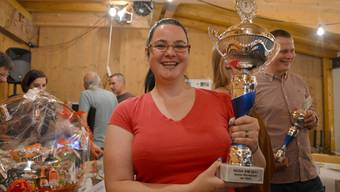Sabine Scholer aus Tenniken bereitete an der WM den besten Wurstsalat zu.