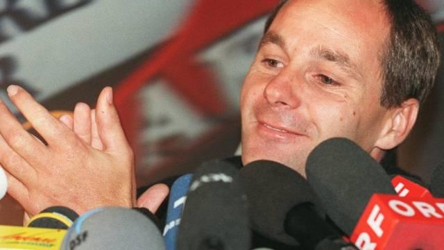 Gerhard Berger startet in Monaco