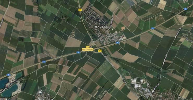 Der Unfall ereignete sich auf der A5 bei Bad Krozingen.