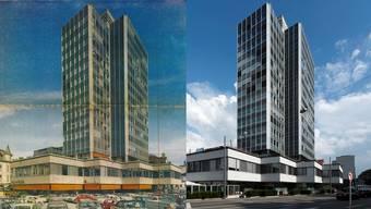 BT-Hochhaus Geschichte