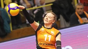 Maja Storck punktete im Hinspiel gleich 20-mal und war damit die beste Aachenerin.