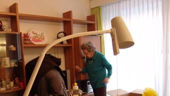 Die Pensionäre wurden beim Umzug von Begleitpersonen betreut.