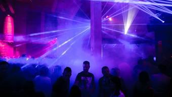 Party im Club «Zellstoff» in Attisholz