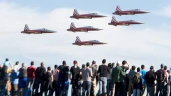 Die Patrouille Suisse soll auf F/A-18-Flugzeuge umsteigen