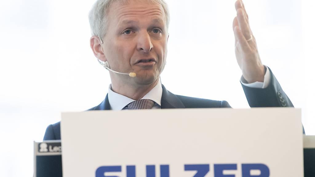 Sulzer plant Medmix-Börsengang am 30. September