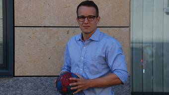 Handballer Christoph Hert. Foto: lmu