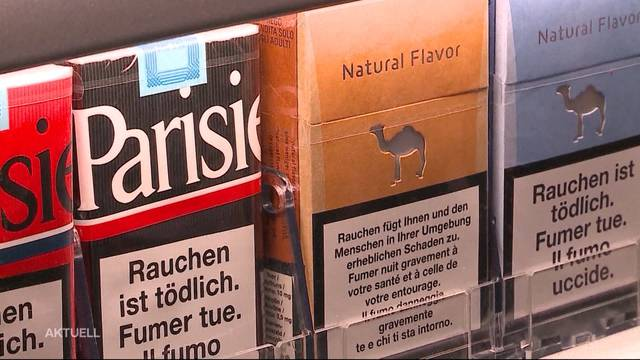 Zigaretten in Solothurn neu ab 18