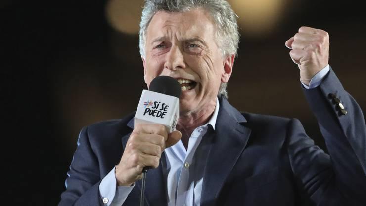 Bei den Präsidentschaftswahlen in Argentinien am heutigen Sonntag stehen die Chancen von Amtsinhaber Mauricio Macri für eine zweite Amtszeit vergleichsweise schlecht.