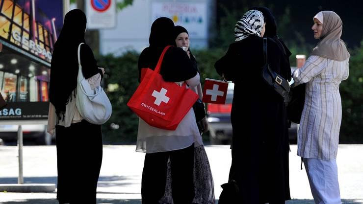 Muslime machen in der Schweiz 5,1 Prozent der Bevölkerung aus.