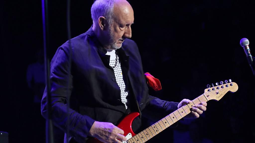 Pete Townshend, Gitarrist der legendären britischen Rockband The Who. (Archiv)