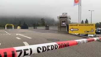 Rothrist: Unbekannte Täterschaft versuchte Bankomaten zu sprengen