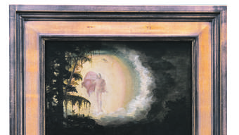 Albrecht Altdorfer: «Die Auferstehung Christi» (1527), Kunstmuseum Basel, 1. Stock, Raum 7.