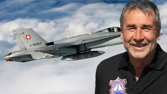 Aviatik-Experte Max Ungricht: «Die Piloten schätzen die F/A-18 als gutmütiges, hochpräzises Flugzeug.»