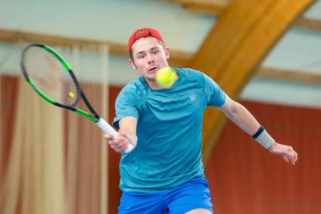 Mit Raphael Baltensperger scheiterte am zweiten Turniertag noch ein dritter Schweizer in Runde eins.