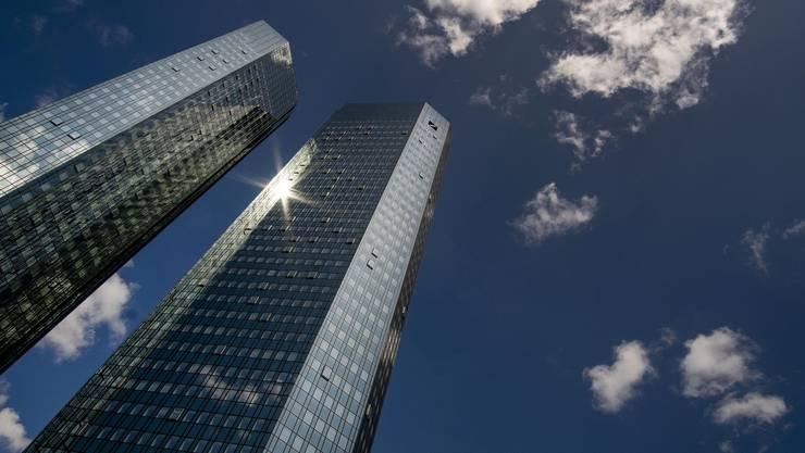 Die Deutsche Bank will weniger hoch hinaus: Hauptsitz in Frankfurt.