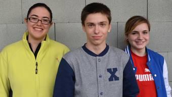 Die Buchserin Christiane Keller (Mitte) siegte bei der Kategorie U16.