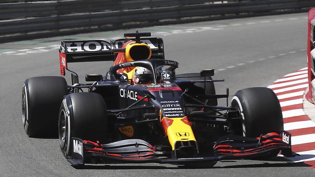 Will nach seinem Sieg in Monaco nachdoppeln: WM-Leader Max Verstappen im Red Bull.