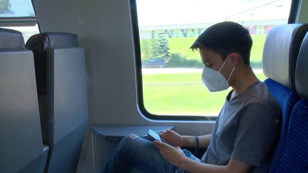 Masken-Kompromiss: SBB prüft Wagen nur für Maskenträger
