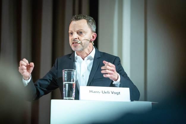 Der Mann hinter der Selbstbestimmungsinitiative: SVP-Nationalrat Hans-Ueli Vogt.