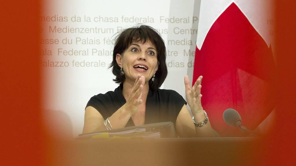 Doris Leuthard: «Ich habe wegen Fukushima nicht gut geschlafen»