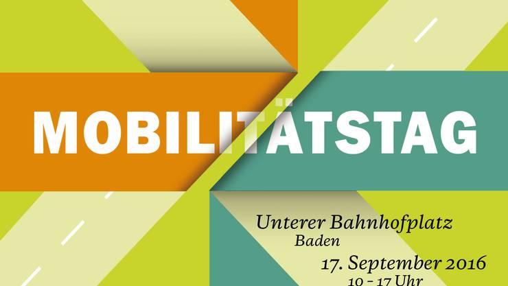 Mobilitätstag Region Baden. Organisiert von badenmobil, Mobilitätszentrale