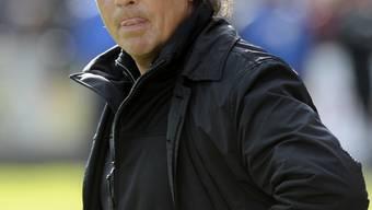 Scheint kein Mann der Zimperlichkeiten zu sein: FCA-Trainer Martin Andermatt.